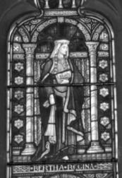 Queen Bertha, Founder of the Christian Church in Canterbury
