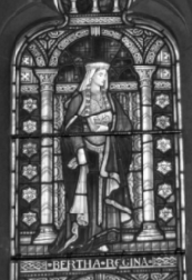 Queen Bertha, Founder of the Christian Church in Canterbury