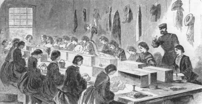 History's Women: Misc. Articles: Women Teaching - During the Civil War Times