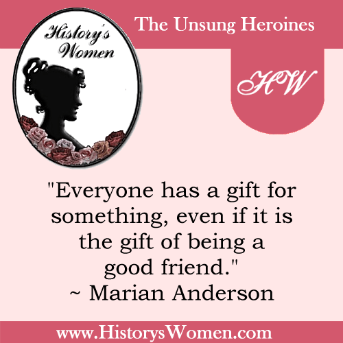 Quote by History's The Arts: Marian Anderson - Renowned Singer