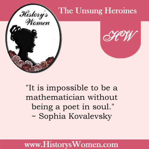 Quote by Sophia Kovalevsky