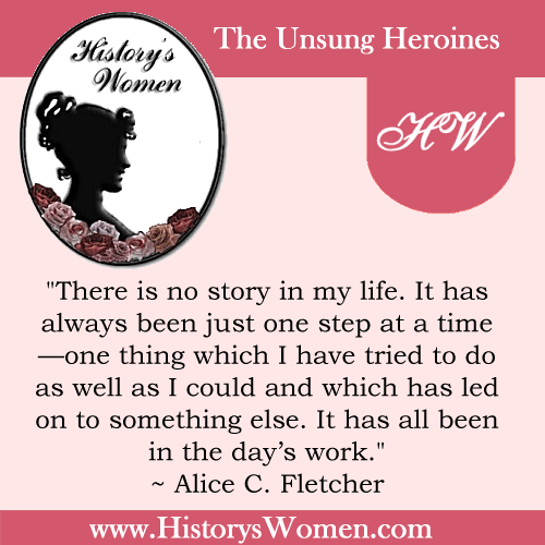 Quote by Alice C. Fletcher