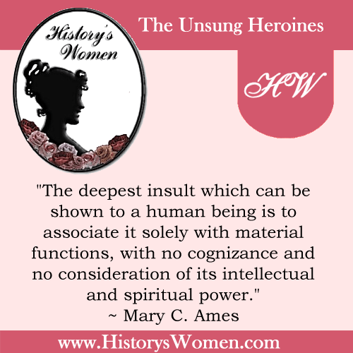 Quote by Mary C. Ames