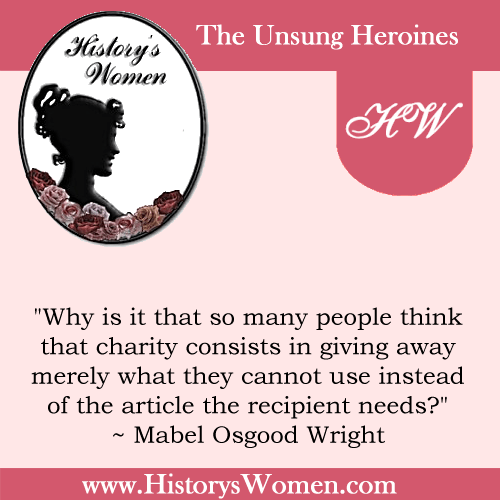 Quote by Mabel Osgood Wright