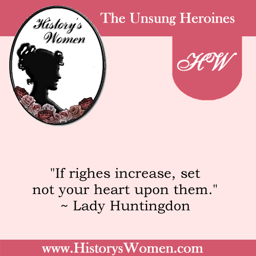 Quote by Lady Huntingdon