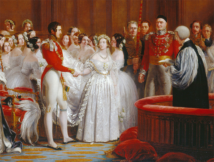 Image result for queen victoria wedding