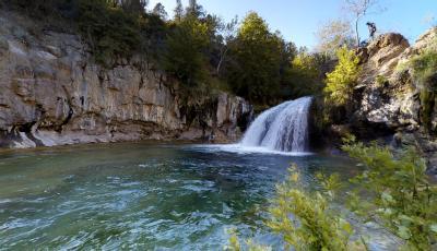 Fossil Creek Waterfall Trail 3D Model
