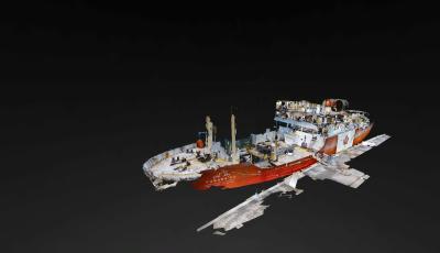 MV Polar Prince 3D Model