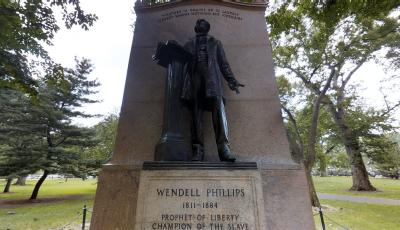 Wendell Phillips Monument