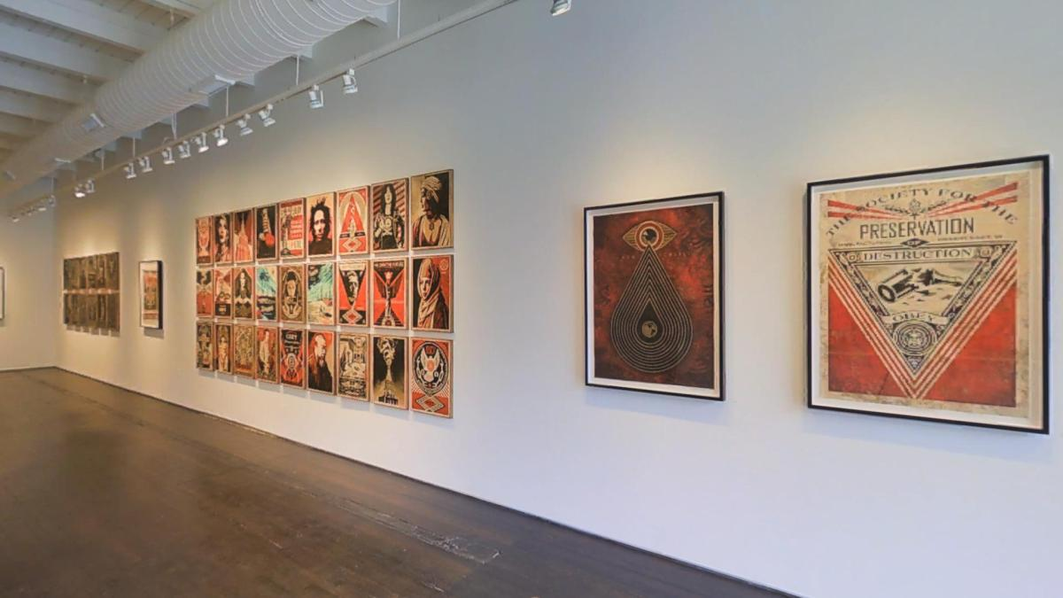 Shepard Fairey Print Exhibit