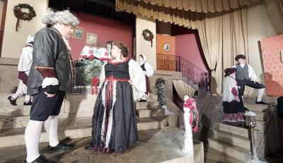 Kingsport Tennessee's LampLight Theatre: A Midwinter's Carol 3D Model