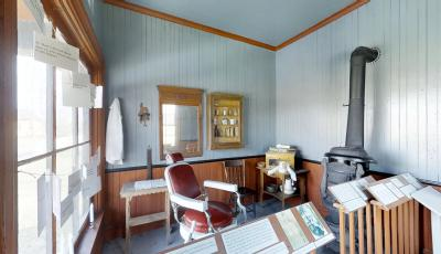 Buffalo Niagara Heritage Village: 1908 Barbershop 3D Model