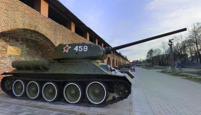 Soviet T-34 Tank 3D Model
