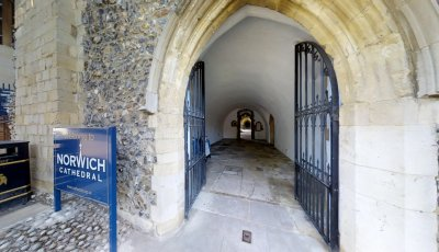 Norwich Cathedral: Cloisters 3D Model