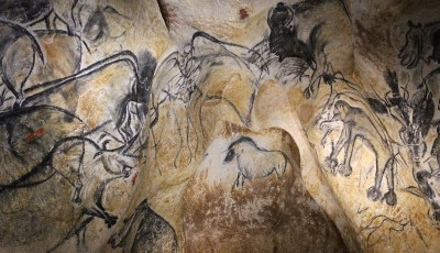 Chauvet Cave – Lion Panel 3D Model