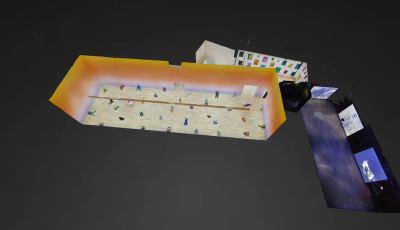 Bass Museum: Ugo Rondinone 3D Model