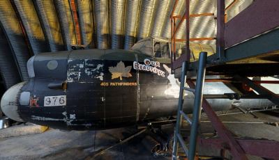 "Lancaster Bomber: ""Our Beautiful Babe"""