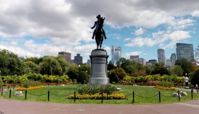 Boston Common: George Washington Monument