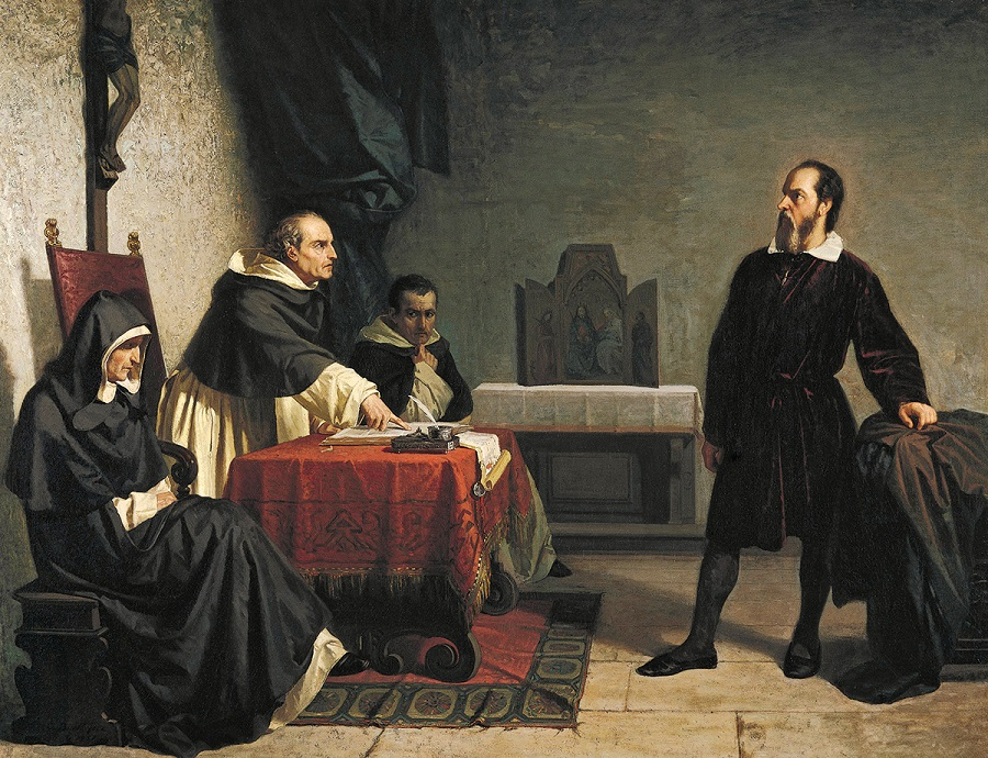 Galileo Before the Inquisition