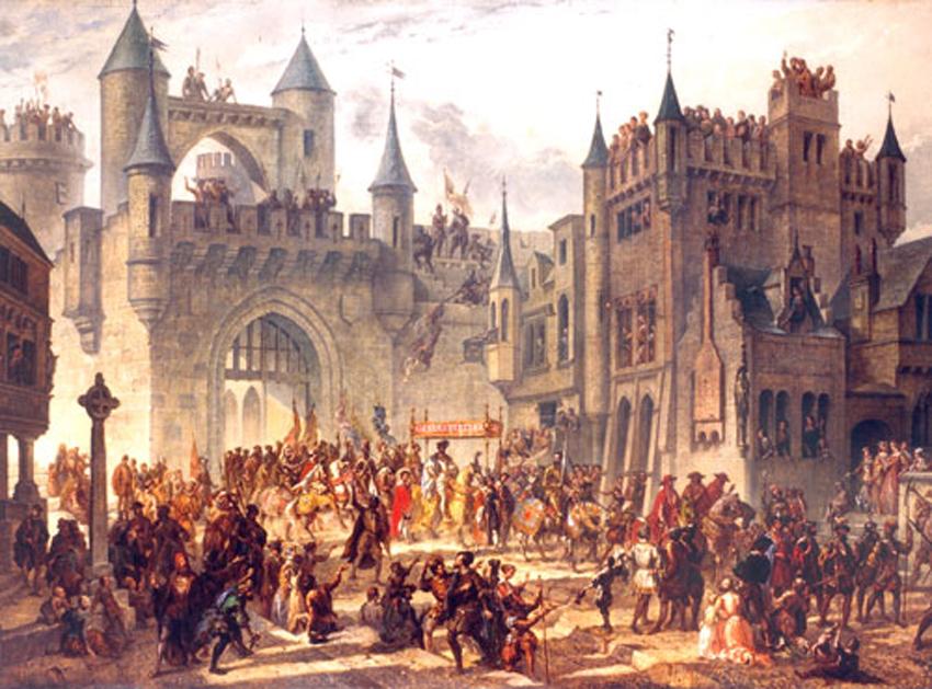 Henry II Enters Metz 1552