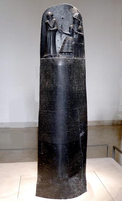 Hammurabi Code Stele