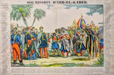 Abd el-Kader's Surrender in 1847CC BY-SA 3.0 image from Wikipedia.