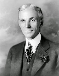 Henry Ford in 1919 Public domain image from Wikipedia