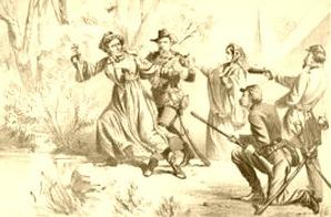 Jefferson Davis' Capture