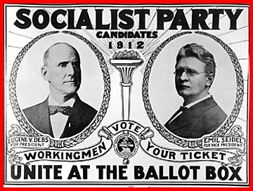 Debs Campaign Poster 1912