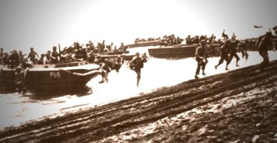 Marines Land at Guadalcanal