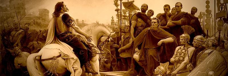 Roman History Banner