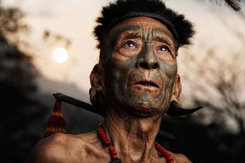 Konyak tribe of Mon, Nagaland