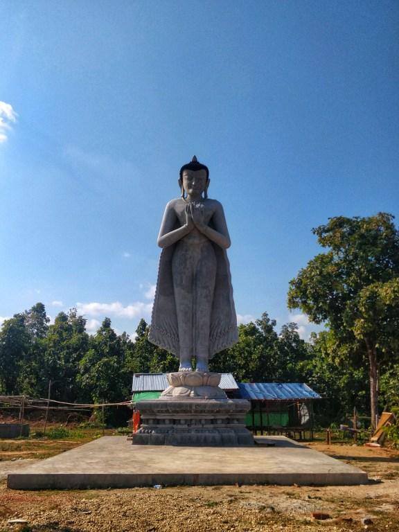 A unique Buddha statue