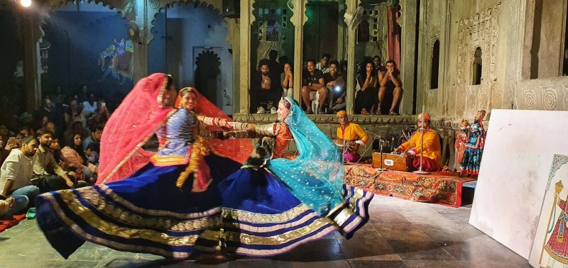 Lake City - Cultural Dance Show at Bagore Ki Haveli