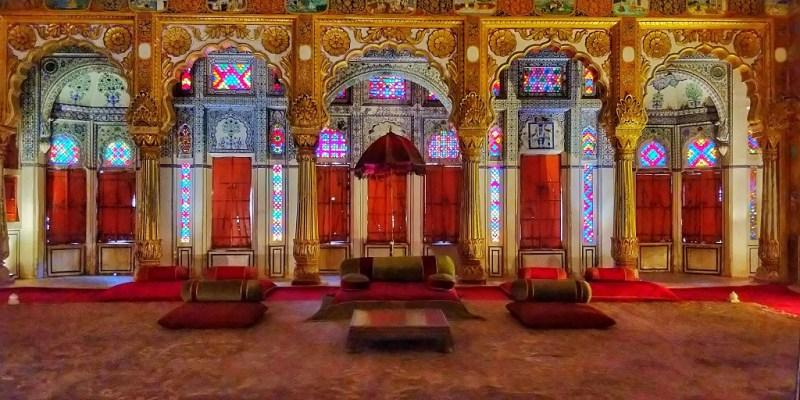 Phool Mahal in Mehrangarh Fort