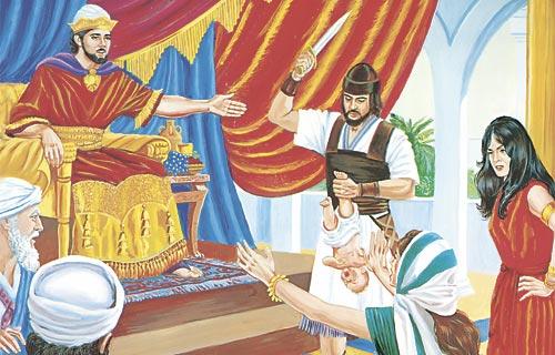 Wisdom baby solomons 1 Kings
