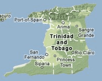 Trinidad Tobago Map 01