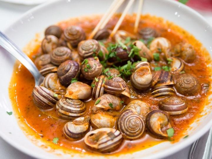 Przepis na Caragolà Valenciana - gulasz ze ślimaków z Walencji