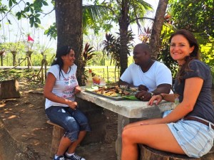 Amir und Yuliana Restaurant Costa Abajo, Hummer zubereiten, Hummer Rezept, Hummer kochen, Meeresfrüchte Rezept, Kochbananen, Yuca, Hai Rezept, Hai zubereiten, Karibische Küche, Karibisches Rezept, Panama