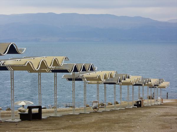 Baden im Toten Meer