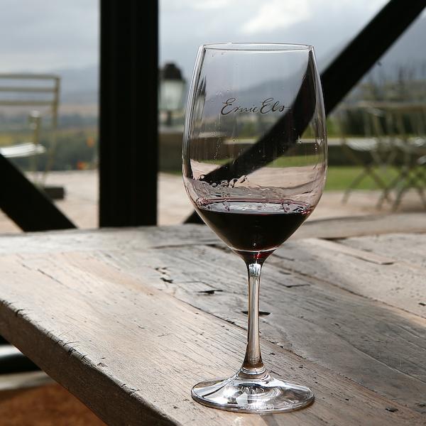 Weinprobe bei Ernie Els