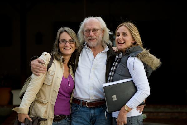 Christiane mit Benedikt und Amanda