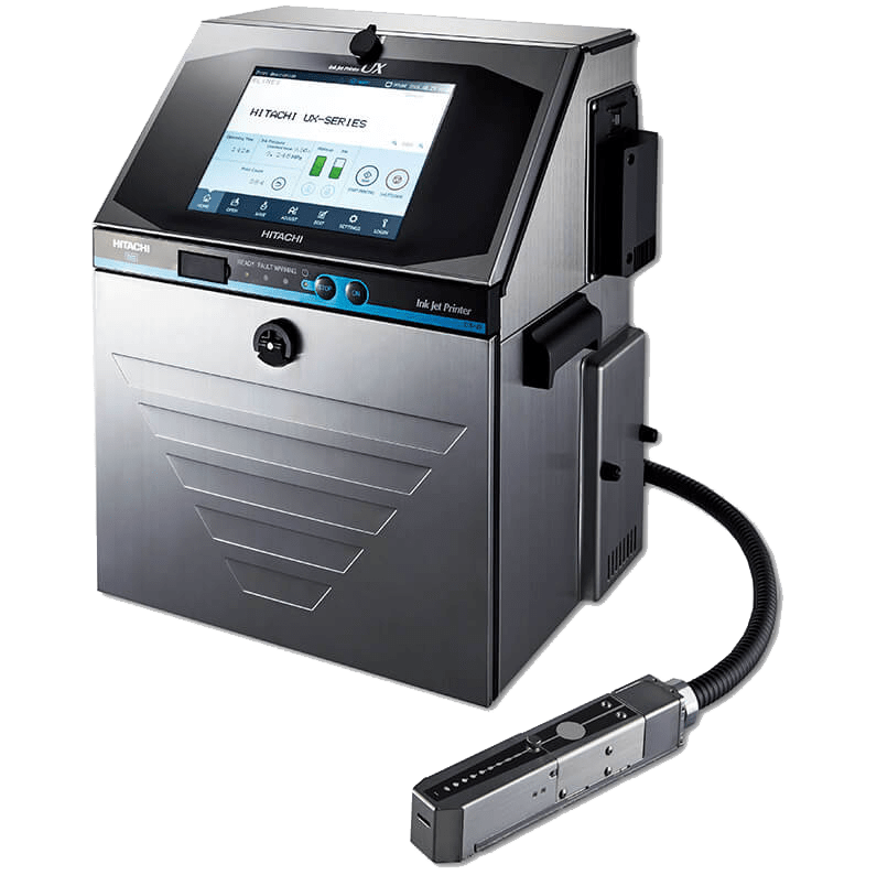 continuous inkjet batch coding machine ux standard