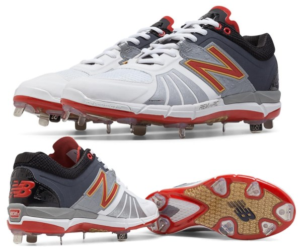 New Balance - L3000XR2 Playoff Pack 3000v2 Metal Spikes - Red