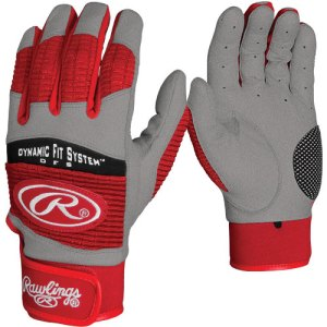 Rawlings Youth Workhorse 950 Series Batting Glove - Red