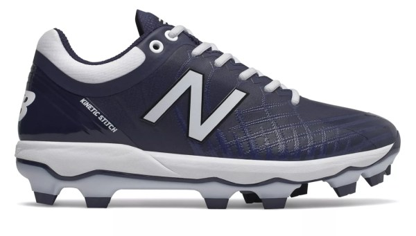 New Balance 4040v5 Adult Molded Cleats - Navy/White (PL4040N5)