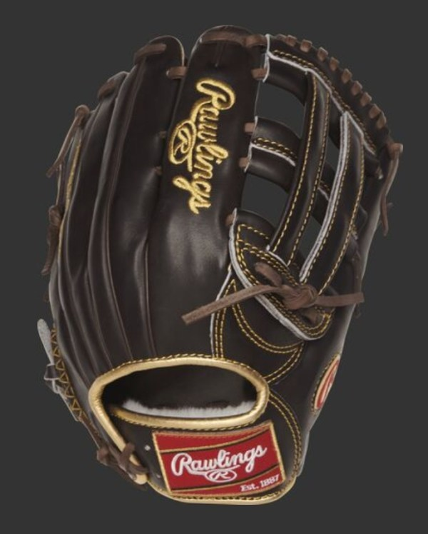 """Rawlings Gold Glove Pro 12.75"""" Outfield Glove (RGG3039-6MO)"""