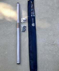 Deluxe 22-Foot Heavy Duty RV Fiberglass Flagpole.