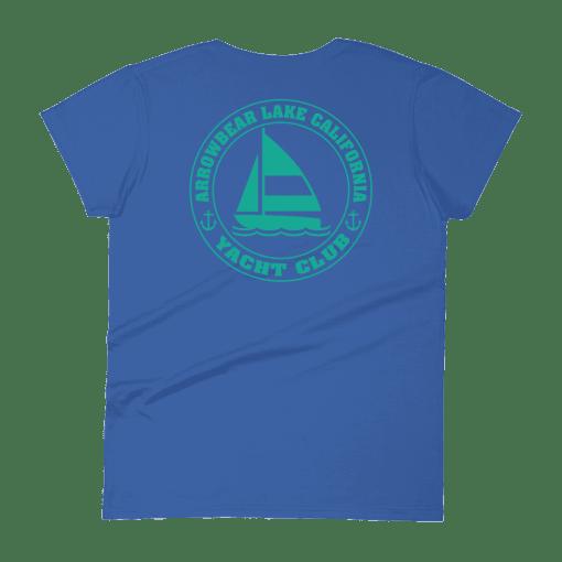 Arrowbear Lake Yacht Club T-Shirt Rear