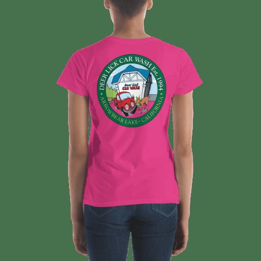Deer Lick Car Wash T-Shirt Rear